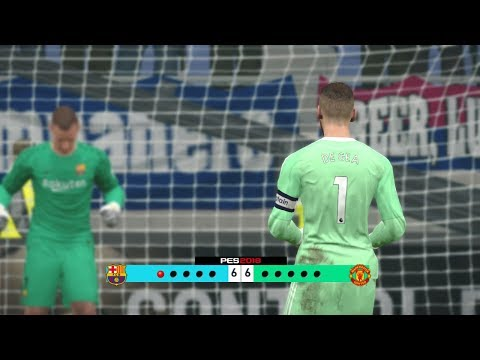 Barcelona vs Manchester United – Penalty Shootout [New Kits 2017/18]