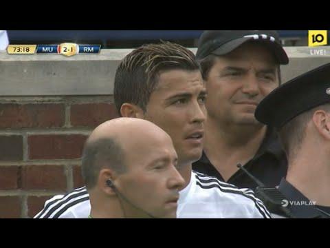 Cristiano Ronaldo vs Manchester United (02/08/2014)