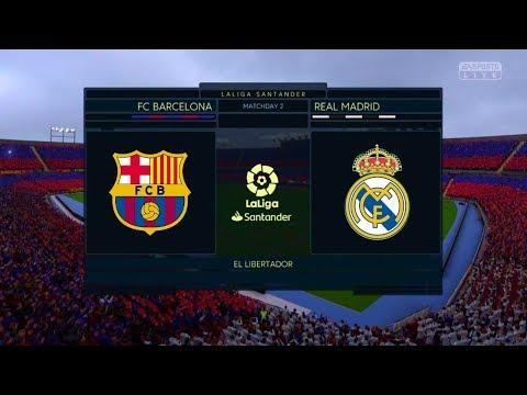 El Clasico 2019 Real Madrid v Barcelona ( Luis Suarez Hat-trick )