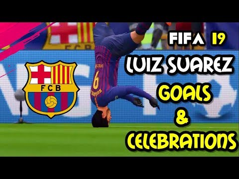El Clasico Real Madrid Vs FC Barcelona 2019 – FIFA 19 PS4 Gameplay: Luis Suarez Hat-trick