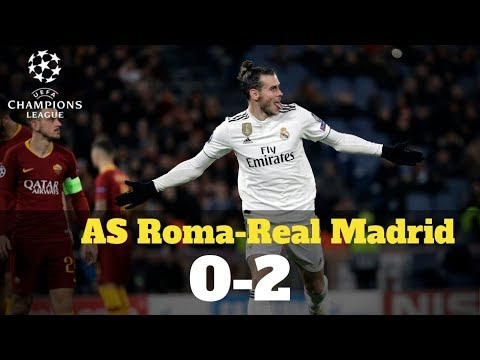 Champions League: Resumen del AS Roma-Real Madrid (0-2)