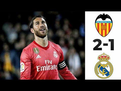 Valencia vs Real Madrid 2-1 – Highlights & Goals Resumen & Goles 2019 HD