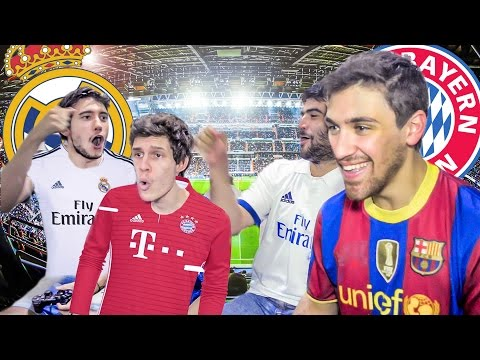 REAL MADRID vs BAYERN MUNICH  | Champions League 2017 | FIFA 17