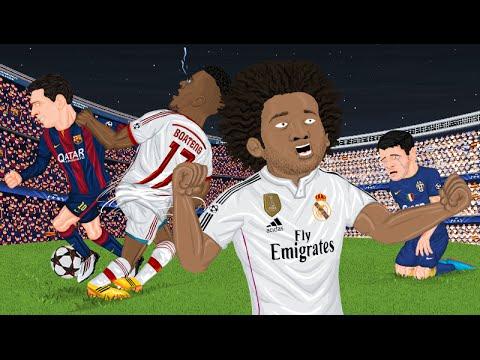 Parodia animada de las Semifinales de Champions League