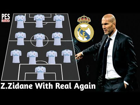 OMG! Real Madrid Starting Lineup With Zinedine Zidane 2019 Again