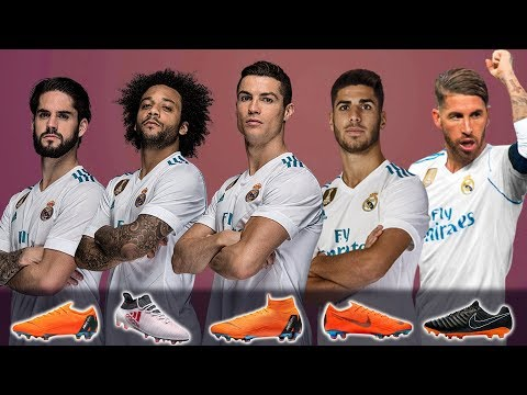 REAL MADRID – NEW FOOTBALL BOOTS & BEST LINEUP 2018