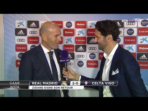 Zinédine Zidane dévoile les coulisses de son retour au Real Madrid