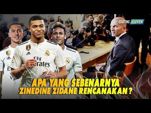 Mengapa Zidane Mau Kembali Melatih Real Madrid, Apa Yang Direncanakan nya ?