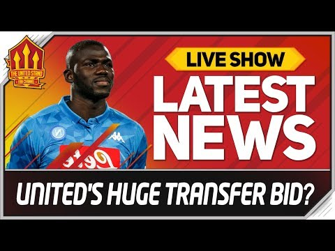 Man Utd Make HUGE Transfer Bid! Man Utd News Now