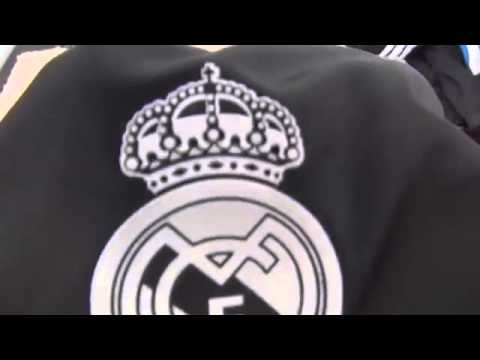 2014/15 Adidas Cristiano Ronaldo Real Madrid Black Third Jersey