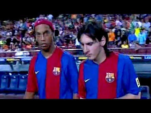 Ronaldinho & Lionel Messi vs Espanyol 2006/07 (H) – Supercopa 2006 – By PedroPaulo10i