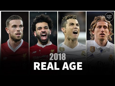 Liverpool and Real Madrid Players | UEFA champions league final 2018 players Real Name and Age