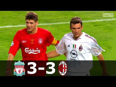 Liverpool vs AC Milan 3-3 (pen 3-2) – UCL 2005 Final – Highlights (English Commentary) HD