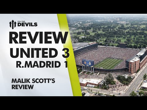 Crush Liverpool! | Manchester United 3 Real Madrid 1  | Pre Season US Tour | REVIEW