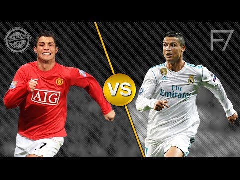 CR7 Manchester United Vs CR7 Real Madrid – Crazy Skills Battle HD