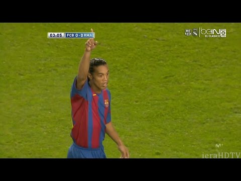FC Barcelona vs Real Madrid – Highlights 20-11-2004 (HD)