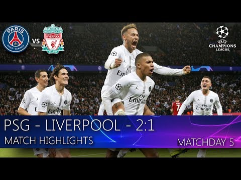 PSG – Liverpool – 2:1. Match highlights. MD-5 (28.11.2018)