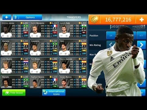 How To Hack Real Madrid Team 2018-19 ● All Players 100 ● Dream League Soccer 2019 – NEW UPDATE