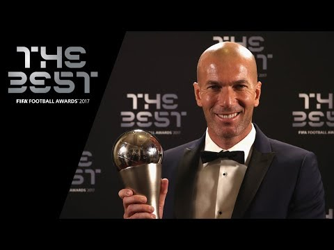 Zinedine Zidane interview – The Best FIFA Men's Coach 2017