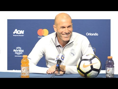 Real Madrid 1-1 Man Utd (1-2 Pens) – Zinedine Zidane Post Match Press Conference – Translation Inc.