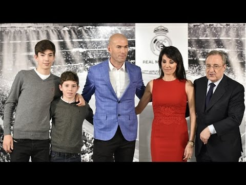Football: Zinedine Zidane named Real Madrid coach