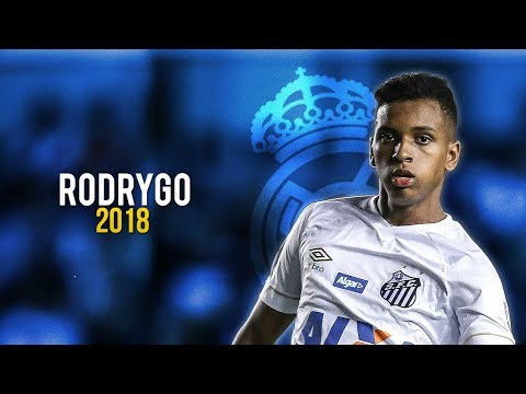 Rodrygo Goes – Magic Skills & Goals 2018 | Real Madrid Future | HD