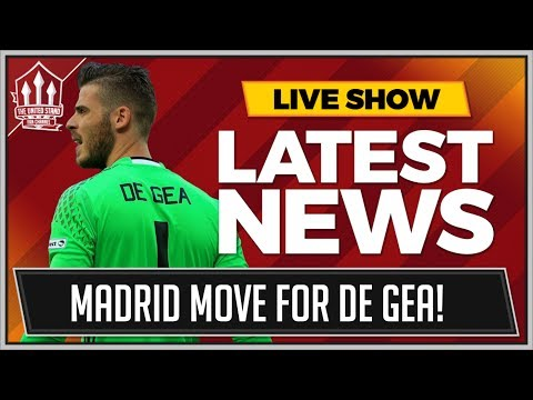 MAN UTD Expect DE GEA Real Madrid Move! MAN UTD Transfer News