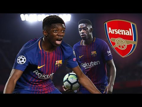 Barcelona 'say yes' as Unai Emery targets Ousmane Dembele as first Arsenal signing ● News Now ● #AFC