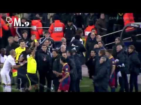 Sergio Ramos Hits Messi – Red Card