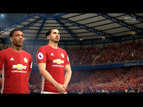 FIFA 17 | Manchester United vs Real Madrid – Full Gameplay (PS4/Xbox One)
