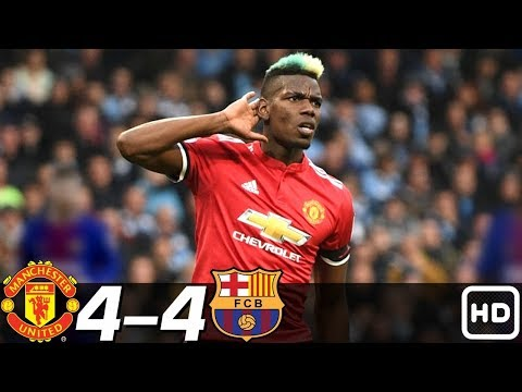 Manchester United vs Barcelona 4-4 – All Goals & Extended Highlights RÉSUMÉ ( Last Matches ) HD