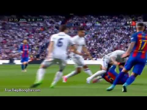 Real Madrid vs Barcelona – La Liga 24/4/2017 Hiệp 1 Full