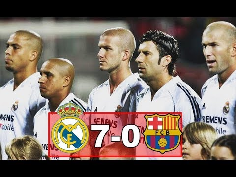 Real madrid vs Barcelona (7-0) Goals & Highlights (CLASIC MATCHES)
