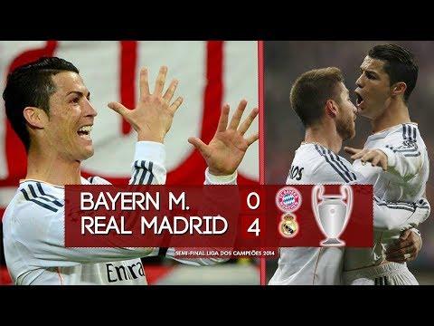 Bayern de Munique 0 x 4 Real Madrid – Melhores Momentos (HD 720p) Semi-final Liga dos Campeões 2014