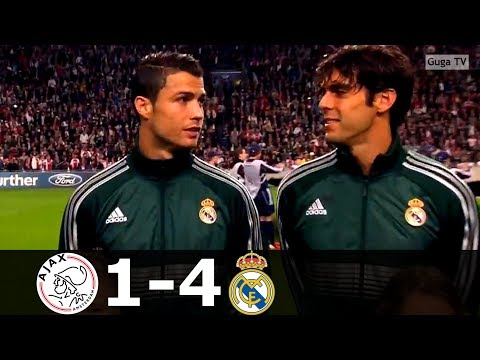 Ajax vs Real Madrid 1-4 – UCL 2012/2013 – Highlights (English Commentary)
