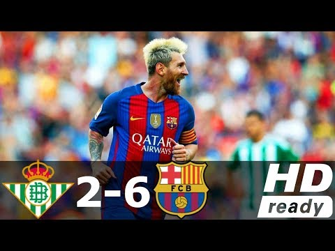 Real Betis vs Barcelona 2-6 All Goals & Highlights RÉSUMÉ & GOLES ( Last Matches ) HD