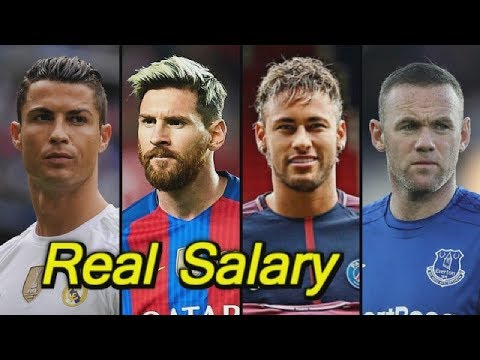 Real Salary Of Top Football Players