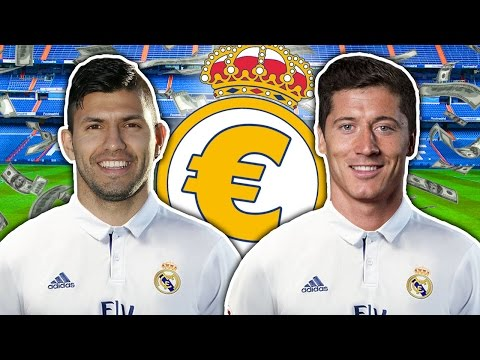 Sergio Aguero Or Robert Lewandowski To Real Madrid For €100m? | Transfer Talk