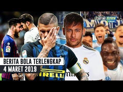 SERU! Ramos Sikut Messi 😱 Balotelli Berulah Lagi 😎 Icardi OUT Dari Inter 🤔 Neymar Kenapa? BERITA
