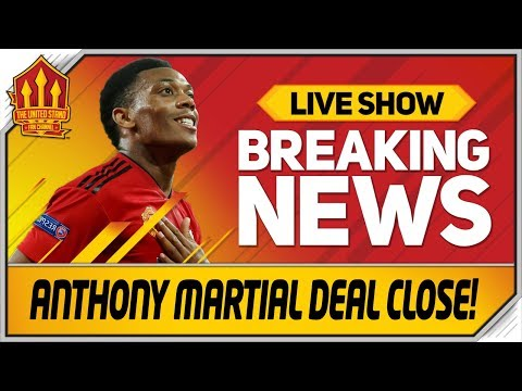 MARTIAL Close To MAN UTD DEAL! Man Utd News Now