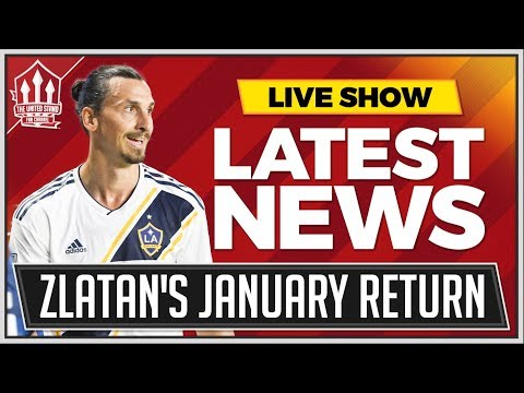 Mourinho Wants Zlatan Return! Man Utd News Now