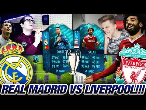 TRAUMTOR! CHAMPIONS LEAGUE FINALE REAL MADRID vs LIVERPOOL SQUAD BUILDER BATTLE💎😱🔥 Fifa 18 Finale 😱