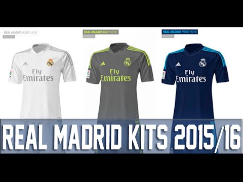 Pes 2013 Real Madrid New Kits 2015/16 Leaked [Download]