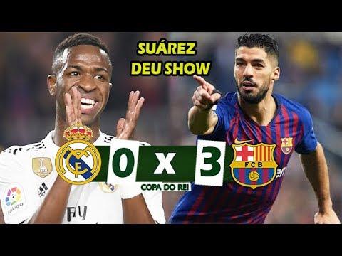 VINICIUS JR DESTRUIU MAS SUÁREZ MITOU | Real Madrid 0 x 3 Barcelona – Melhores Momentos – 27/02/2019