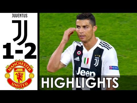 Juventus vs Manchester United 1-2 Goals and Highlights w/ English Commentary (UCL) 2018-19 HD 720p