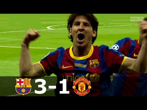 Barcelona vs Manchester United 3-1 – UCL Final 2011 – Full Highlights HD
