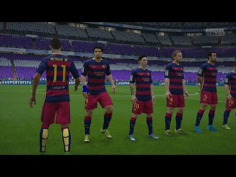 (PS4/Xbox One) FIFA 16 | Real Madrid vs FC Barcelona – Next-Gen Full Gameplay (1080p HD)