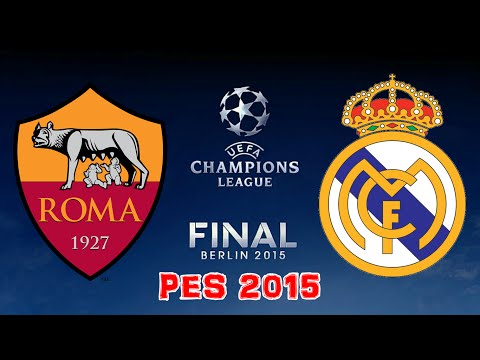 PES 2015 – UCL Final – Real Madrid vs AS Roma – Full Match HD