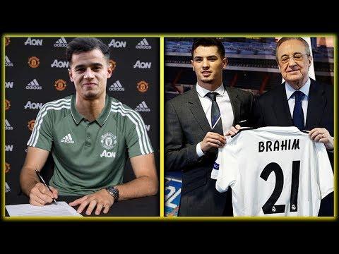 COUTINHO To Sign For MAN UTD !? Transfer News ft. Coutinho | Brahim Diaz | Denis Suarez