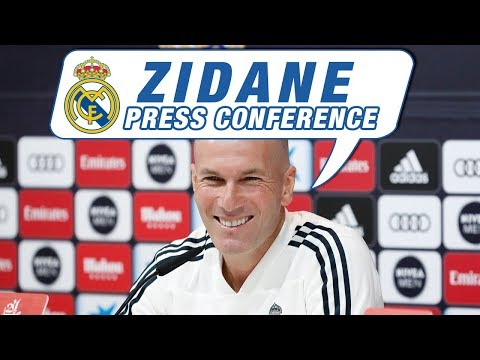 LIVE | Zidane's Real Madrid press conference before Celta match!